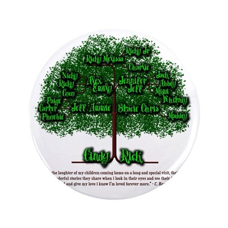 "Cindy Tree 3.5"" Button"