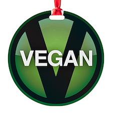 VeganButton Ornament