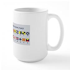 Maritime flags mug  Mug