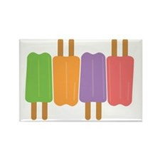 popsicles Rectangle Magnet