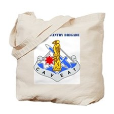 DUI-172ND IN BDE WITH TEXT Tote Bag