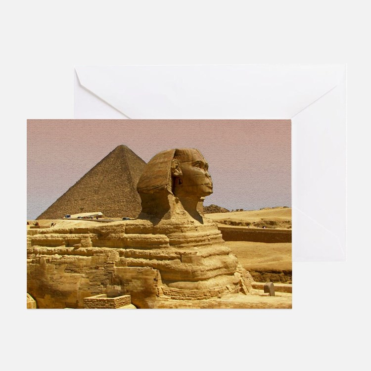 Sphinx Mousepad Greeting Card
