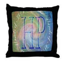 in the hands Throw Pillow