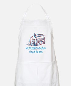 What happens in the barn Apron