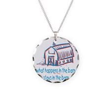 What happens in the barn Necklace