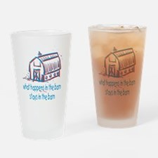 What happens in the barn Drinking Glass