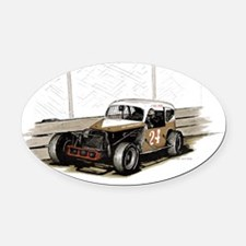 24-cagle-coach-1969 Oval Car Magnet