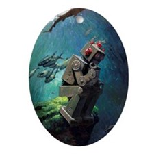 Submerged Oval Ornament