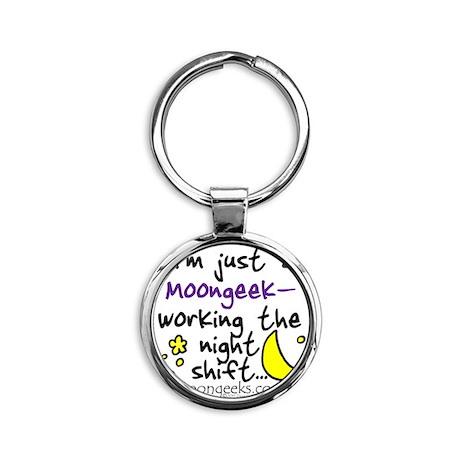 Moongeeks [Night Shift](BT-NI)-11.0 Round Keychain