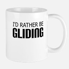 Rather Be Gliding Mugs