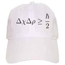 Heisenberg_uncertainty_principle Baseball Cap
