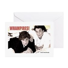 WHAMPIRES! Greeting Cards