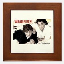 WHAMPIRES! Framed Tile