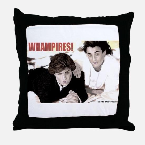 WHAMPIRES! Throw Pillow