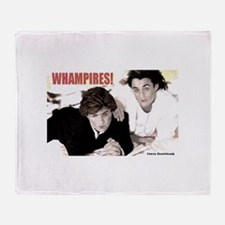 WHAMPIRES! Throw Blanket