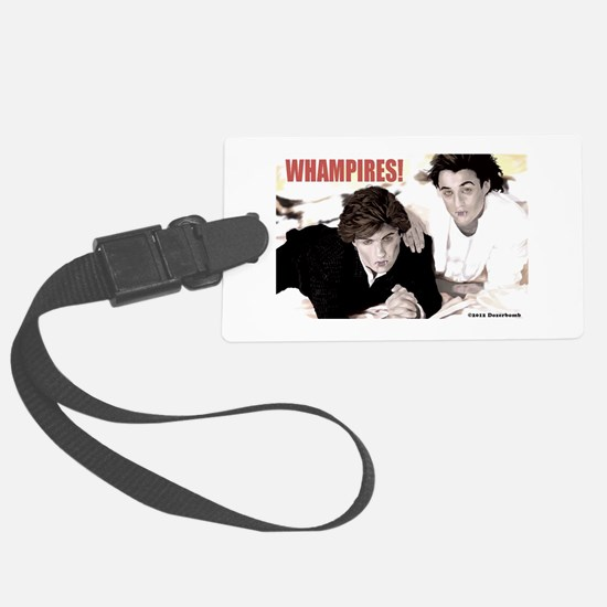 WHAMPIRES! Luggage Tag