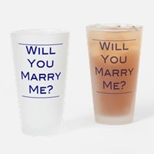will-you-marry-me Drinking Glass
