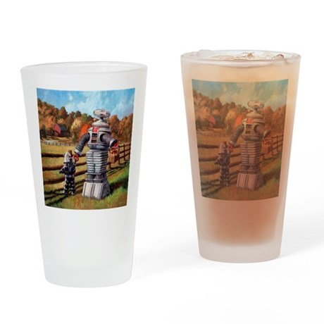 FallOuting Drinking Glass