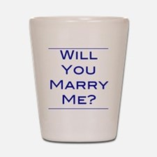 will-you-marry-me Shot Glass