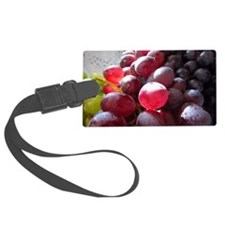 Red and Green Grapes Luggage Tag