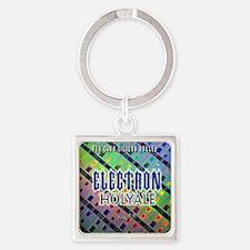 electronholyale Square Keychain