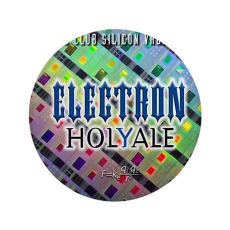"""electronholyale 3.5"""" Button"""