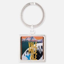 vail-yale Square Keychain