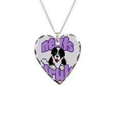 purple newf drool Necklace