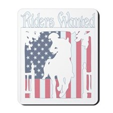 2-PaulRevere_outlines_dark Mousepad