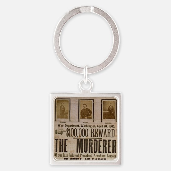 ART THE MURDERER crop Square Keychain