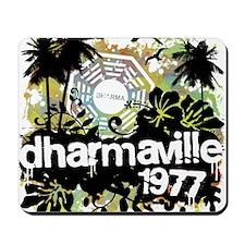 2-dharmaville Mousepad