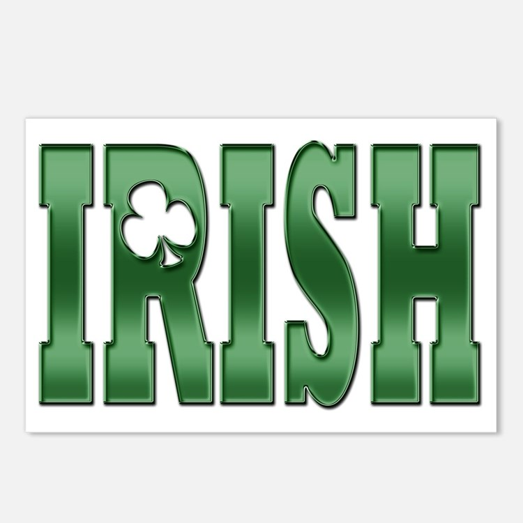 irish a Postcards (Package of 8)