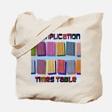 Times Tables mpad Tote Bag