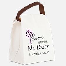 emma_mrdarcy Canvas Lunch Bag