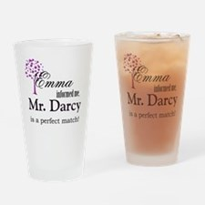 emma_mrdarcy Drinking Glass