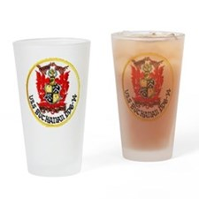 buchanan patch Drinking Glass