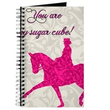 Valentines Day Card outside pink Journal