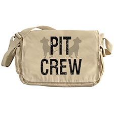 2-pit_crew_back_1 Messenger Bag