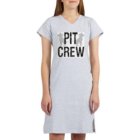 2-pit_crew_back_1 Women's Nightshirt