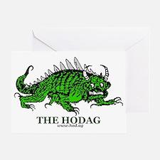 Hodag New Shirt Logo Greeting Card