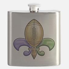 football-de-lis-3-T Flask