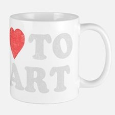 ilovetofart-black copy Mug