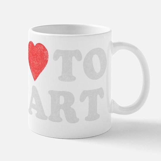 ilovetofart-black copy Mug