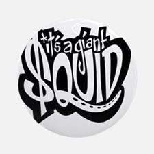 $quid: The Movie T-Shirt! Round Ornament
