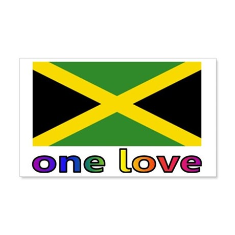 One Love 20x12 Wall Decal