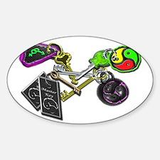 keys Sticker (Oval)