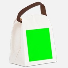 Inside lime 6x4_card Canvas Lunch Bag