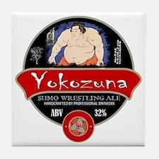 Yokozuna Sumo Beer Tile Coaster