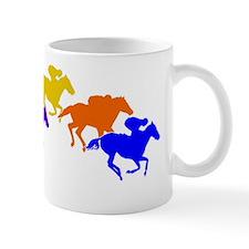 00012-HORSES-RACE--six-TR-WH Mug