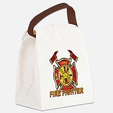 Maltese cross w Axes Canvas Lunch Bag
